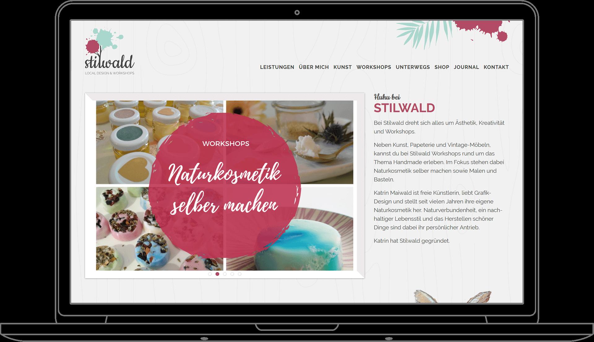 Pixelschmied Projekt Stilwald